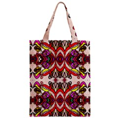 Birds Zipper Classic Tote Bag
