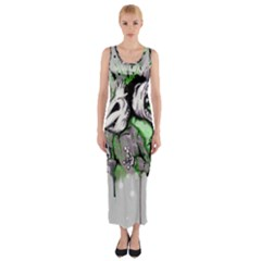 Recently Deceased Fitted Maxi Dress