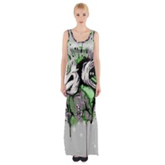 Recently Deceased Maxi Thigh Split Dress