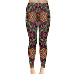 Luxury Boho Baroque Leggings