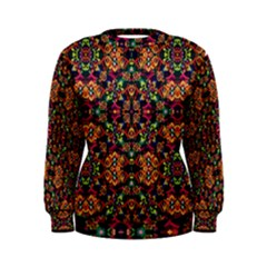 Luxury Boho Baroque Women s Sweatshirt
