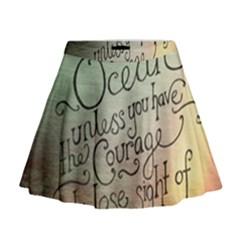 Inspirational Mini Flare Skirt