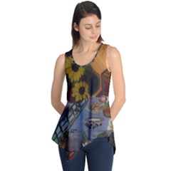 Pas Pour Eve Re-Done Sleeveless Tunic by Jocelyn APple/Appleartcom