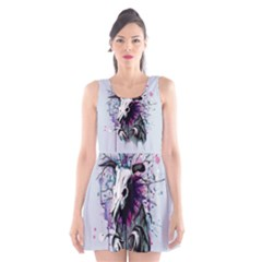 From Nature We Must Stray Scoop Neck Skater Dress
