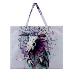 From Nature We Must Stray Zipper Large Tote Bag