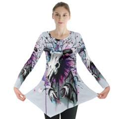 From Nature We Must Stray Long Sleeve Tunic
