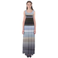 Pompey Beach Empire Waist Maxi Dress