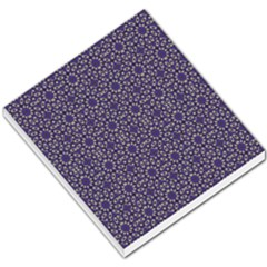 Stylized Floral Check Small Memo Pads