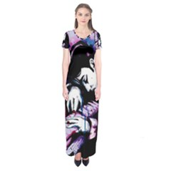 Baby I m A Star Short Sleeve Maxi Dress