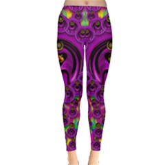 Love For The Fruit And Stars In The Milky Way Leggings