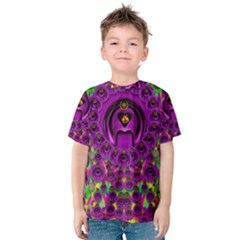 Love For The Fruit And Stars In The Milky Way Kid s Cotton Tee