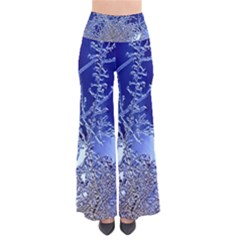 crystalline branches Women s Chic Palazzo Pants
