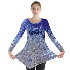 Crystalline Branches Long Sleeve Tunic