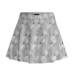 Ditsy Flowers Collage Mini Flare Skirt