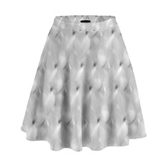 Ditsy Flowers Collage High Waist Skirt