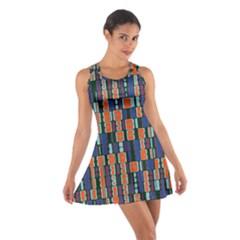 4 colors shapes                                    Cotton Racerback Dress