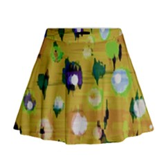 Ink                                      Mini Flare Skirt