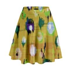 Ink                                      High Waist Skirt