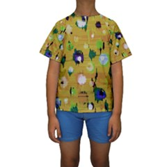 Ink                                     Kid s Short Sleeve Swimwear