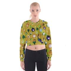 Ink                                      Women s Cropped Sweatshirt