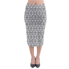 NUMERILOGICAL  Midi Pencil Skirt
