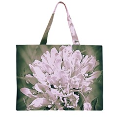 White Flower Large Tote Bag