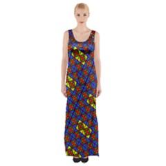 Twist Maxi Thigh Split Dress