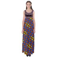 Twist Empire Waist Maxi Dress