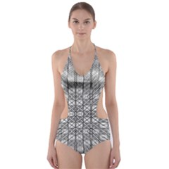 Ripple N Fold Ondule Cut-Out One Piece Swimsuit