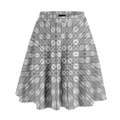Ripple N Fold Ondule High Waist Skirt