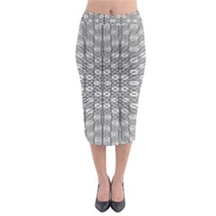 Ripple N Fold Ondule Midi Pencil Skirt