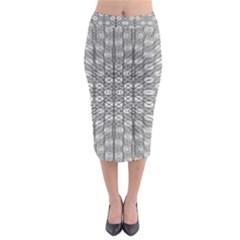 Ripple N Fold Ondule Midi Pencil Skirt