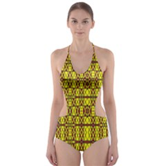 SMALL  BIG Cut-Out One Piece Swimsuit