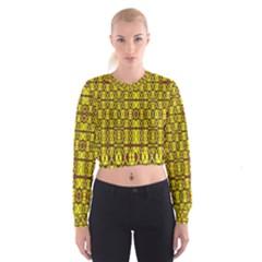 SMALL  BIG Women s Cropped Sweatshirt