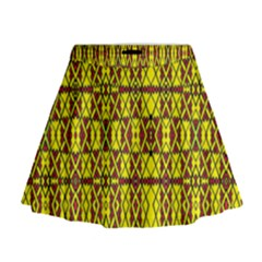 Small  Big Mini Flare Skirt
