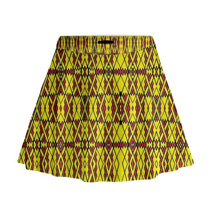 SMALL  BIG Mini Flare Skirt
