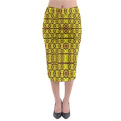 Small  Big Midi Pencil Skirt