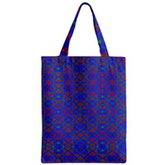 MATRIX FIVE Zipper Classic Tote Bag
