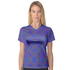 Matrix Five Women s V Neck Sport Mesh Tee