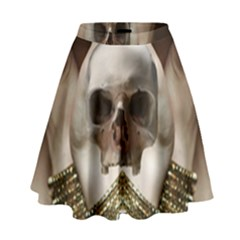 Skull Magic High Waist Skirt