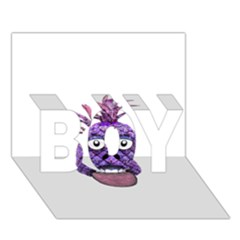 Funny Fruit Face Head Character Boy 3d Greeting Card (7x5)