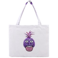 Funny Fruit Face Head Character Mini Tote Bag
