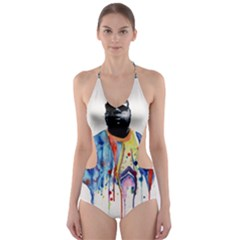 Born Sinner  Cut-Out One Piece Swimsuit