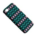 Fancy Teal Red Pattern Apple iPhone 4/4S Premium Hardshell Case View5