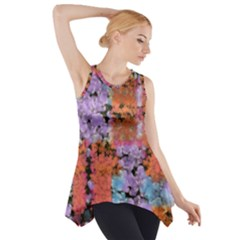 Paint Texture                                     Side Drop Tank Tunic