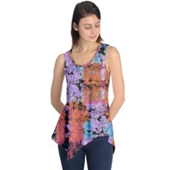 Paint Texture                                     Sleeveless Tunic