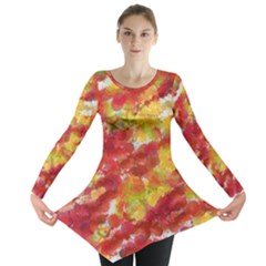 Colorful Splatters                                      Long Sleeve Tunic