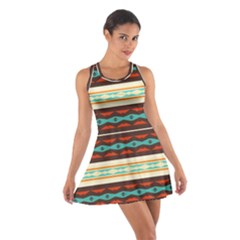 Stripes and rhombus chains                                      Cotton Racerback Dress