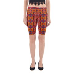 Planet Spice Yoga Cropped Leggings