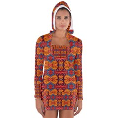 PLANET SPICE Women s Long Sleeve Hooded T-shirt